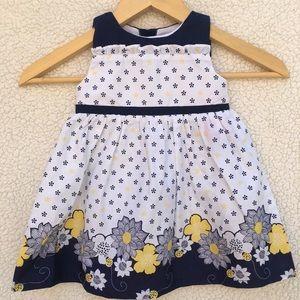 Other - Blue & white flower dress 🌻